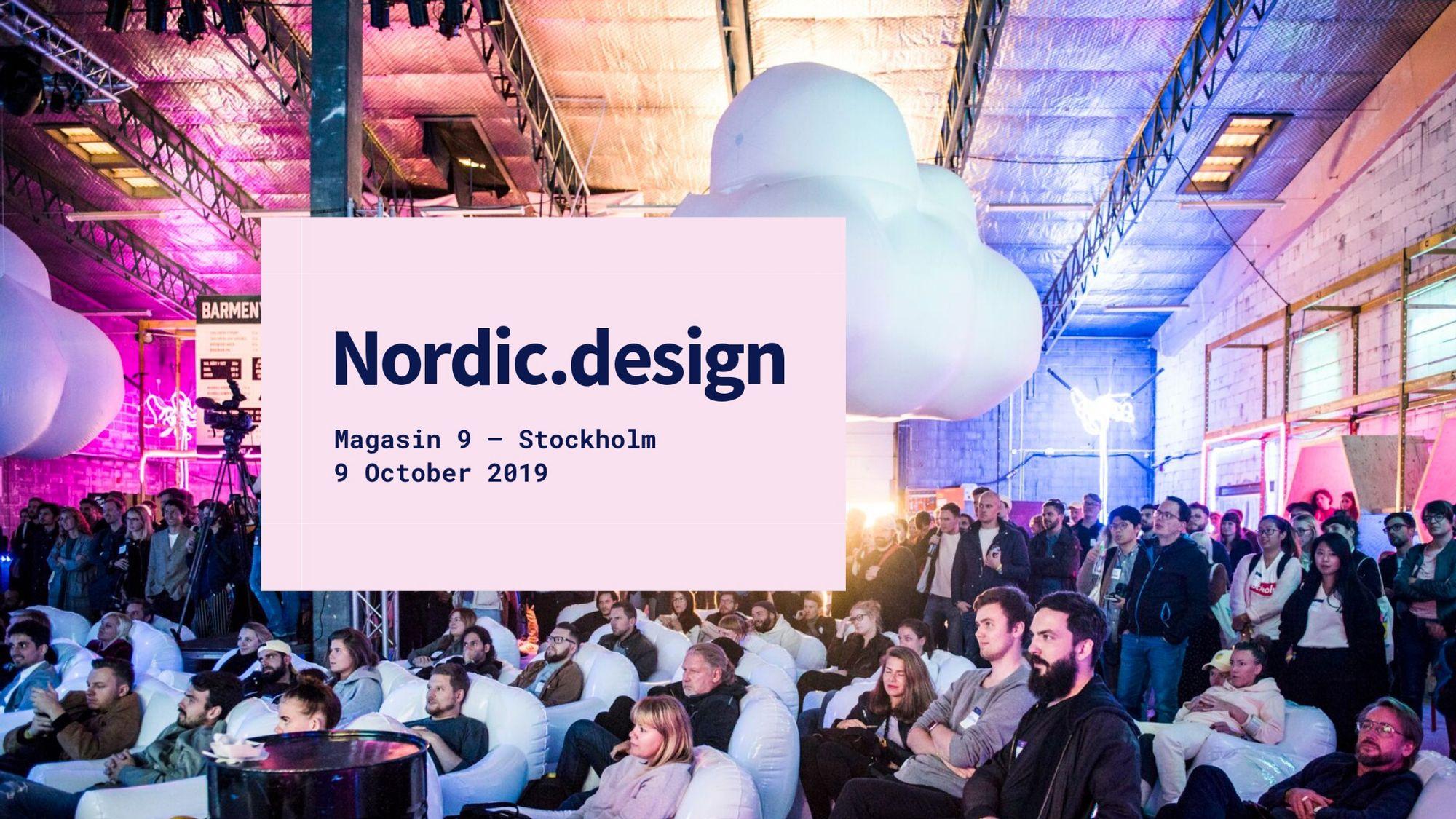 Nordic design 2019