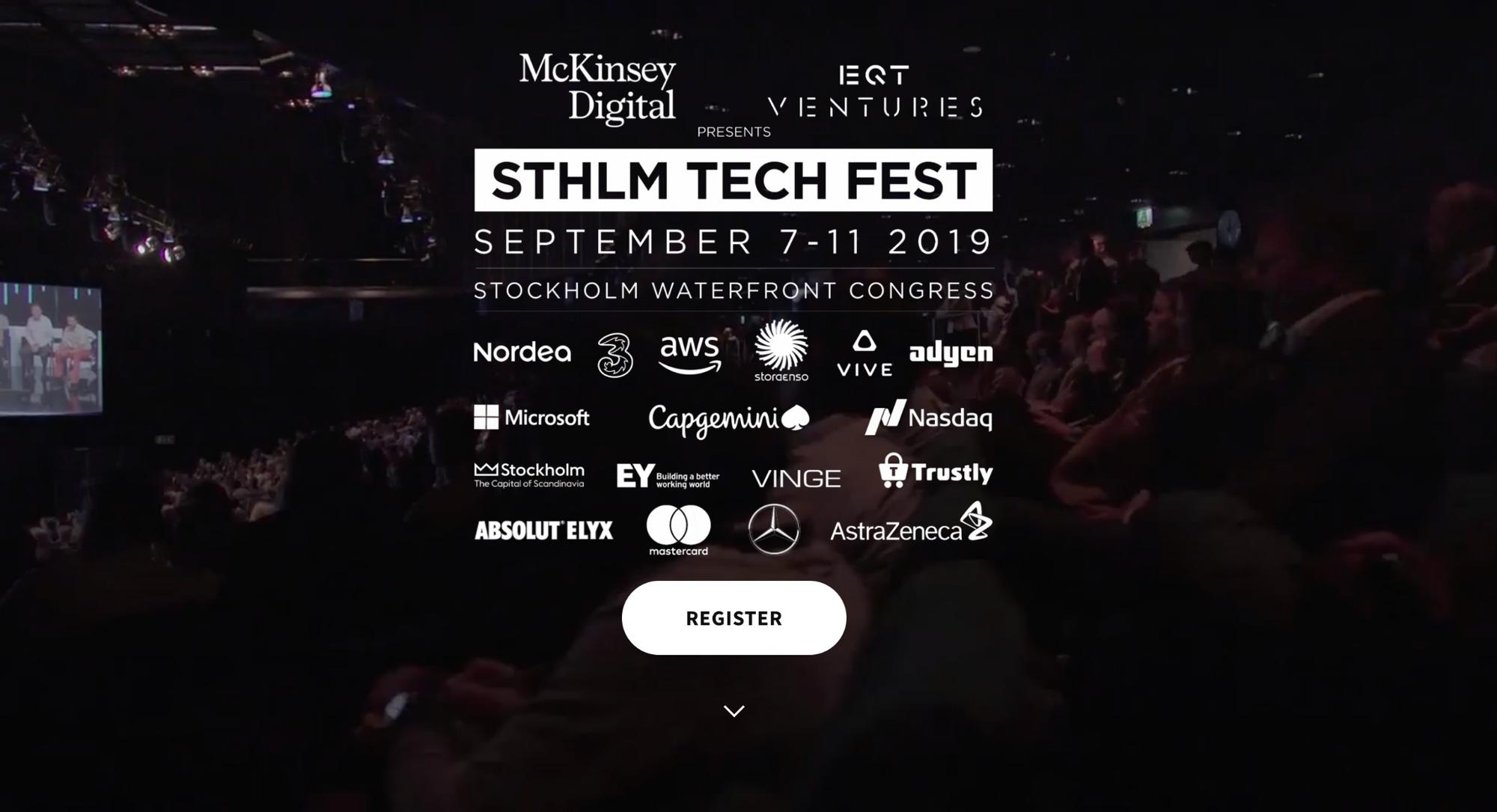 STHLM TECH FEST 2019
